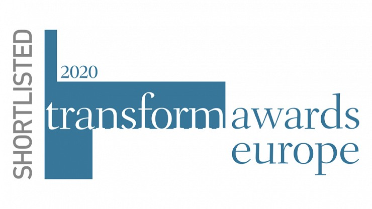 Missouri Creative shortlisted at Transform Awards Europe 2020
