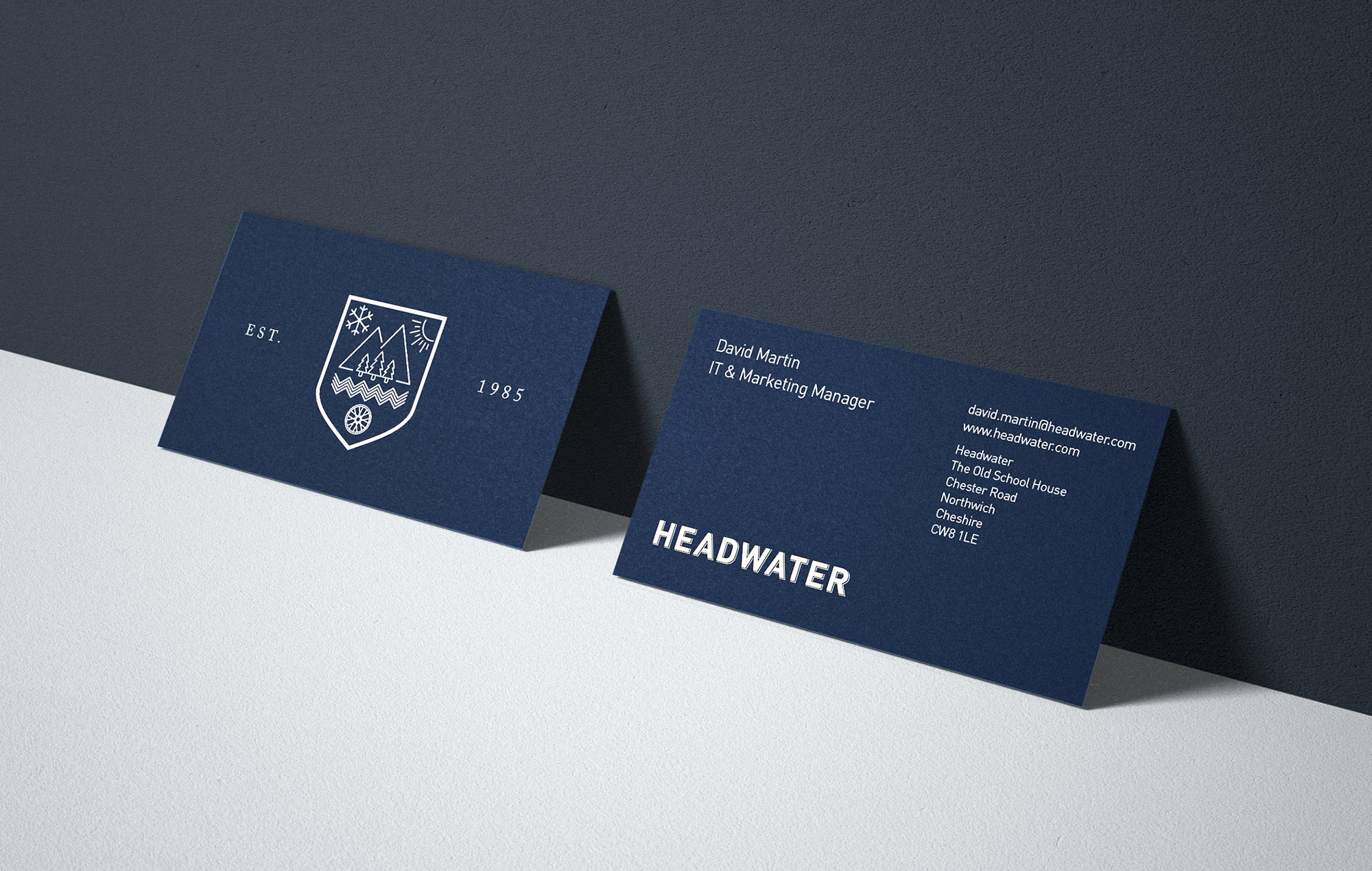 Headwater Business Cards
